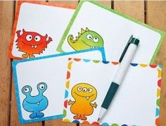 Here's a cute little find. Here are FREE Monster-themed note cards and cut outs to use for puppets. Use the note cards for birthday party invites, or leave a fun note in your child's lunchbox! There are also some cutouts to make puppets with just some glue and Popsicle sticks! Find more Freebies I've posted …