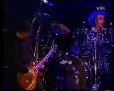 Jimmy Page and Robert Plant. Live How Many More Times from the Bizarre Festival August 1998. From German TV. Jimmy Page is on fire!