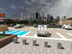 [Minecraft] Lapiz Point's Skyline by Yazur on deviantART