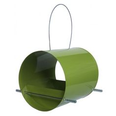 Supa Abercorn Green Wild Bird Feeder x 3 Barrel shaped wild bird feeder is suitable for many different types of seed…