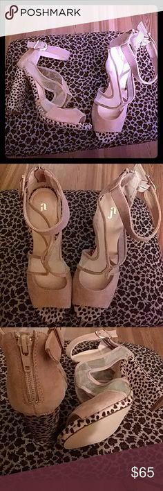 Selling this June Ambrose sandal -NEW NO TAGS on Poshmark! My username is: divineclothing. #shopmycloset #poshmark #fashion #shopping #style #forsale #June Ambrose #Shoes