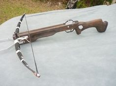 Cheap easy crossbow build yielding effective hunting weapon