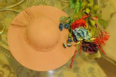 .: DIY: Spring Floral Hat