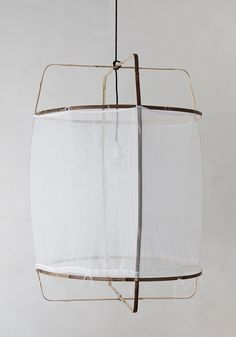 heimelig-shop - Z1 cotton lamp black ay illuminate pendant light hängelampe baumwoll lampenschirm