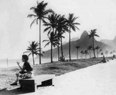 Praia de Ipanema Circa 1950