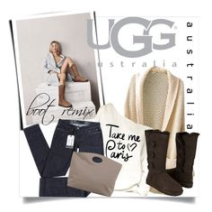 """Boot Remix with UGG : Contest Entry"" by clotheshawg ❤ liked on Polyvore featuring UGG Australia and Levi's"