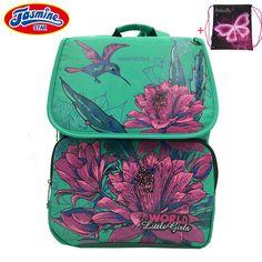 0b3f7aa34978 |JASMINESTAR Детские Ранцы ортопедические Рюкзаки Сумка Дети Цветочный  принт школьные сумки для девочек Mochila Escolar купить на AliExpress