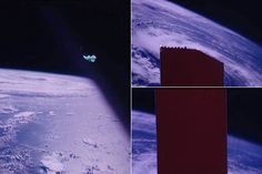 Footage from Apollo mission shows astronauts using duct tape to block view of strange object