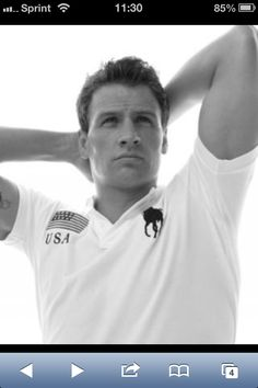 Ethan? Oh... That's just Ryan lochte, my mistake.
