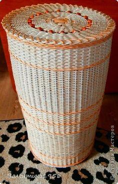 Поделка изделие Плетение Я сделала это Трубочки бумажные фото 5