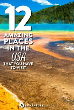 USA TRAVEL   Looking for some inspiration? Take a look at the most amazing places in the usa that you have to see. The US if full of insanely beautiful places from canyons, national psarks, to incredible beaches.