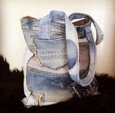 ⭐️ DUNES handmade Jeans Bag