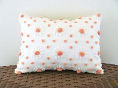 MANGO POPS chenille cushion cover 12 X 16 by moreChenilleChateau