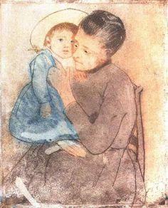 Baby Bill by Mary Cassatt #art