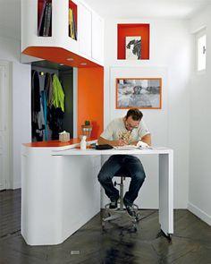 Raumkonzepte 60 m²: Stauraum als Gestaltung | Architektur Wohnen
