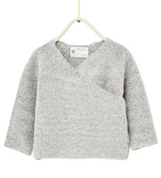 Crossover cardigan-SWEATERS AND CARDIGANS-Baby girl-Baby | 3 months - 3 years-KIDS | ZARA United States