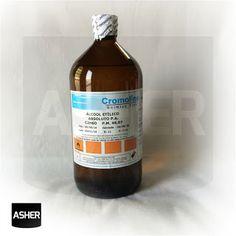 Aprenda como fazer produtos de Limpeza, Cosméticos e Perfumes.: Álcool Etílico Anidro 99% P.A. - 1 Litro