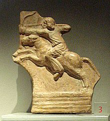 """""""The Parthian shot was a military tactic made famous by the Parthians, an ancient Iranian people. The Parthian archers mounted on light horse, while retreating at a full gallop, would turn their bodies back to shoot at the pursuing enemy. The maneuver required superb equestrian skills, since the rider's hands were occupied by his bow."""""""