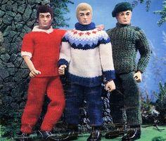 crochet action man