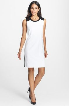 Calvin Klein Colorblock Sheath Dress available at #Nordstrom