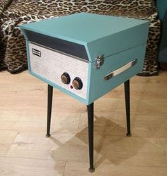 Fully-restored 1960s Dansette Senator portable record player