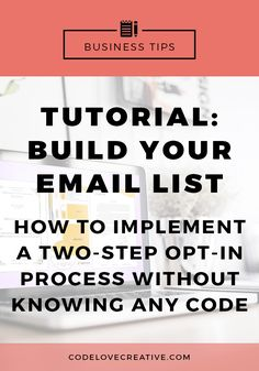 So you have an email list and now you want people to sign up. Here's how to implement one of the most valuable tips for increasing your opt-in rate!