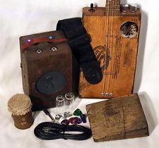 Cigar Box Amp - great relic look.