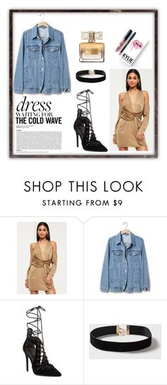 """""""Dress under 100"""" by elisa-aupetit ❤ liked on Polyvore featuring Missguided, Gap, Kendall + Kylie, Kylie Cosmetics, Dorothy Perkins and Givenchy"""