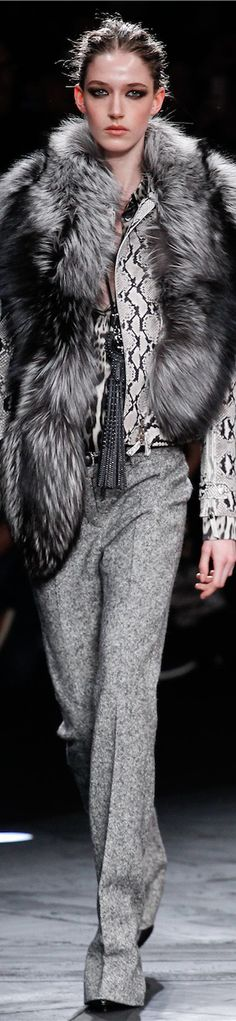 FALL 2014 Ready-To-Wear featuring Roberto Cavalli