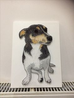Jack Russell by LSD String Art