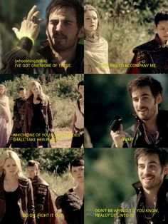 """Don't be afraid to REALLY get into it!"" - I love this because Hook kind of bounces when he says it! - OUAT - Captain Hook - Once Upon a Time"
