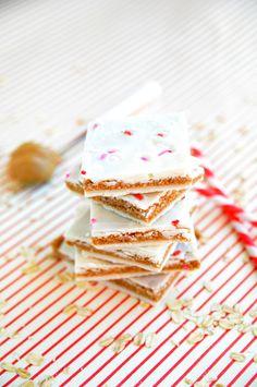 Peanut Butter Cookie Dough Bark