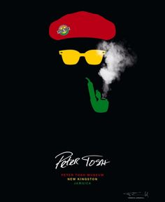 Winning poster for Peter Tosh Museum