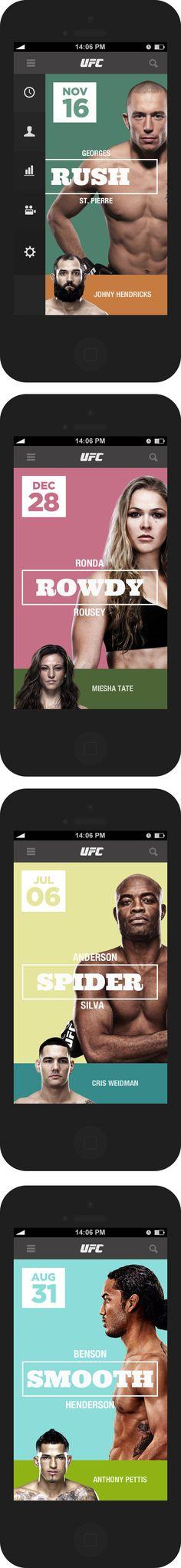 UFC Schedule APP