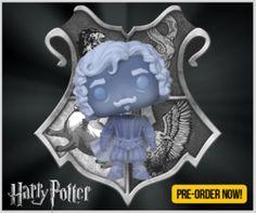 Funko POP! Nearly Headless Nick - Blue Translucent PRE-ORDER Harry Potter