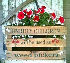 Weed pickers!
