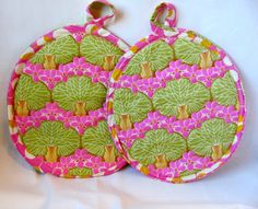 Modern Pot Holders and Hot Pads - pinned by pin4etsy.com