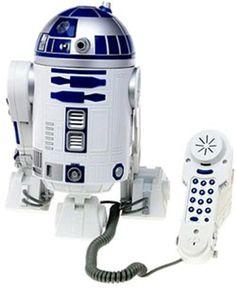 Telemania Star Wars Novelty Phone -- For more information, visit image link. Star Wars Rebels, Star Wars R2d2, Star Wars Love, Star War 3, Izuku Midoriya Cosplay, Amour Star Wars, Geeks, Star Wars Zimmer, Star Wars Merchandise