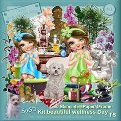 Dagny`s Scrap und Grafik Design: PU Kit beautiful wellness Day