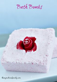 These easy Bath Bombs are the perfect way to relax or give as a gift.