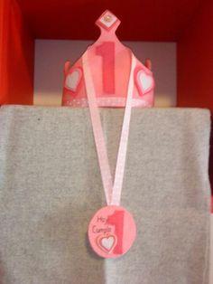 Corona de cumpleaños mod. Heart, Complementos, Sombreros