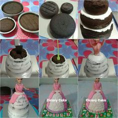 Barbie Cake tutorial...