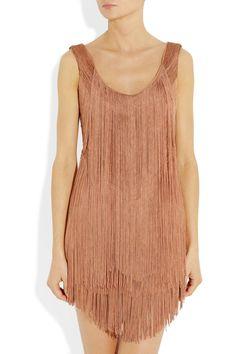 perfect fringed mini dress!