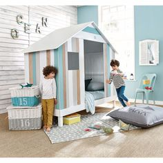 Boys furniture, decor and soft furnishings Baby Spa, Boys Furniture, New Room, Soft Furnishings, Vintage Decor, Kids Room, Toddler Bed, Bedroom Decor, Design