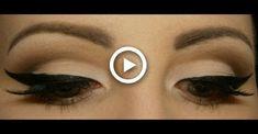 Pin-up/Rockabilly makeup tutorial Pin-up / Rockabilly-Make-up-Tutorial Rockabilly Makeup Tutorial, Rockabilly Make Up, Cat Eye Makeup Tutorial, Wedding Makeup Tutorial, Charlotte Tilbury, Vintage Makeup Tutorials, Hair Tutorials, Pinup, Pin Up Makeup