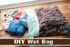Runs With Spatulas: Crafty Fridays: DIY Wet Bag (Could put wet swimming suits in these)