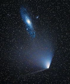 Comet PanSTARRS and M31 | by Martin P Campbell