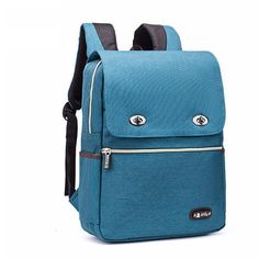 Leisure Student Bag Simple Large Nylon British Style School Backpack sold by needit. Backpacks For Teens School, Backpack For Teens, College Backpacks, School Bags, Animal Backpacks, Cute Backpacks, Girl Backpacks, Lace Backpack, Striped Backpack