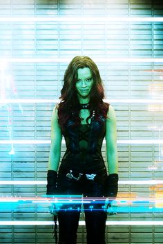 Gamora- Haven't done my research but I can't wait to see her in the movie!