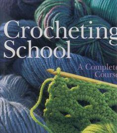 Libro de crochet con instrucciones muy sencillas.